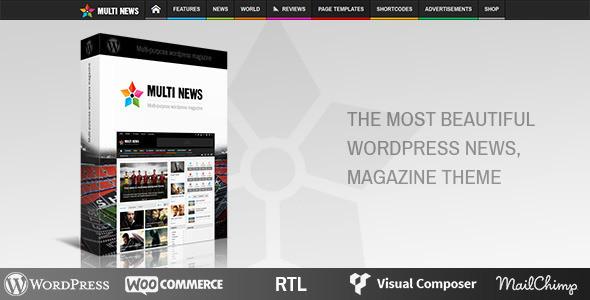 multinews theme by Momizat