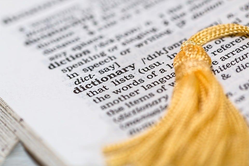كيف تستخدم القاموس الانجليزي-الانجليزي
