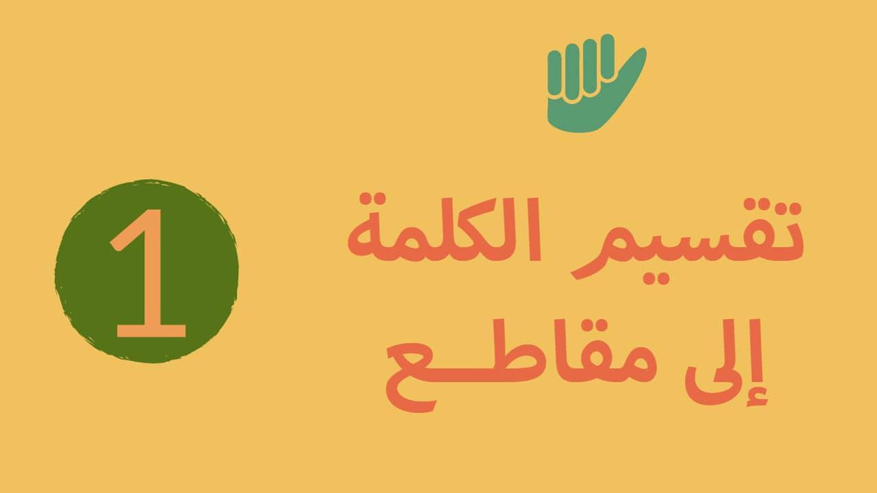 Photo of الصوتيات الإنجليزية – تقسيم الكلمة إلى مقاطع | Word Stress | Syllables